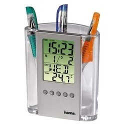 HAMA LCD Thermometer & Pen Holder (�����������/����������)