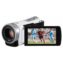 jvc everio gz-e305 (white 1cmos 40x is el 3 touch lcd 1080p 24mb sdhc)