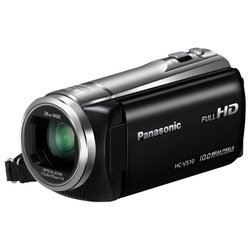 panasonic hc-v510 (black 1xmos 50x is opt 3 touch lcd 1080i sdhc flash)