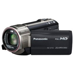 panasonic hc-v710 (black 1xmos 21x is opt 3 touch lcd 1080 sdxc+sdhc flash 3d)