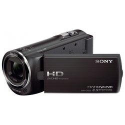 sony hdr-cx220e (black 1cmos 27x is el 2.7 touch lcd 1080p sdhc+ms pro duo flash)