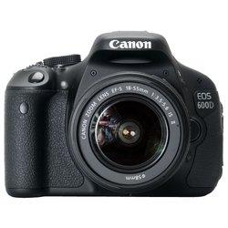 Canon EOS 600D Kit (black 18Mpix 18-55ISII 3 720p SDHC Li-Ion, ����� � ����������)