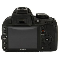 ���� nikon d3100 kit (black 14.2mpix 18-55ii (��� vr) / 55-200vr 3 720p sd li-ion, ����� � �����������)