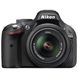 Nikon D5200 Kit (black 24.1Mpix 18-55VR 3 1080p SDHC turLCD, ����� � ���������� EN-EL14)