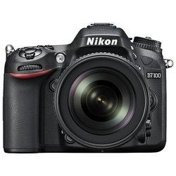 Nikon D7100 Kit (black 24.1Mpix 18-105VR 3.2 1080p SD, ����� � ���������� EN-EL15)