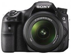 Sony Alpha SLT-A58 Kit (black 20.1Mpix 18-55 2.7 1080p SDXC, �������� � ���������� NP-FM500H)