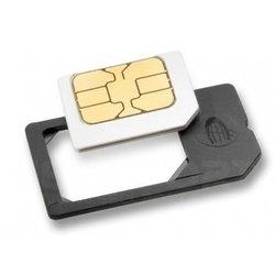 Переходник nano SIM на microSIM, nanoSIM на SIM, micro SIM на SIM Deppa (3шт)