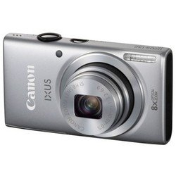 canon digital ixus 132 (silver 16mpix zoom8x 2.7 720p sdhc ccd is opt hdmi nb-11l)