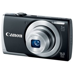 canon powershot a2500 (black 16mpix zoom5x 2.7 720p sdhc is nb-11l)
