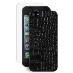 ����� ��� iphone 5 / 5s reptile black deppa (������) + �������� ������