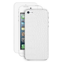 ��������� ����� ��� iphone 5 / 5s reptile white deppa (�����) + �������� ������