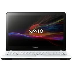 "sony vaio svf1521l1r (core i3 3217u 1800 mhz/15.5""/1366x768/4096mb/500gb/dvd-rw/wi-fi/bluetooth/win 8 64) (белый)"