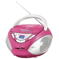 BBK BX108U (розовый/серый)