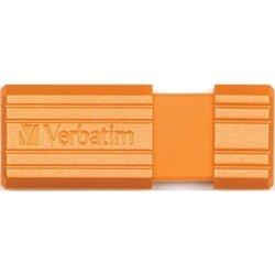 Verbatim Store 'n' Go PinStripe 16GB (оранжевый)
