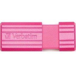 Verbatim Store 'n' Go PinStripe 16GB (розовый)