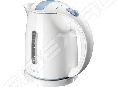 Philips HD4646/70 (белый с голубым) - Электрочайник