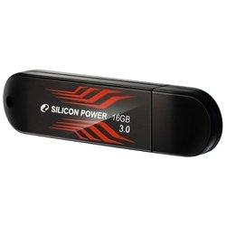 Silicon Power Blaze B10 16GB (черный/красный)