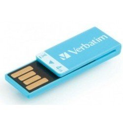 verbatim clip-it 4gb (синий)