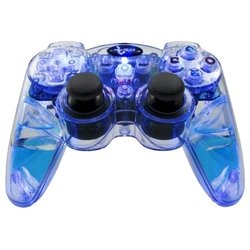 dreamgear lava glow wired controller for ps2