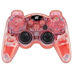 dreamgear lava glow wireless controller for ps3