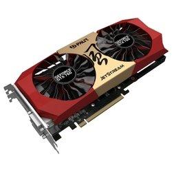 Видеокарта Palit GeForce GTX 760 1072Mhz PCI-E 3.0 2048Mb 6200Mhz 256 bit 2xDVI HDMI HDCP (NE5X760H1042-1042J) RTL