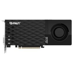 Видеокарта Palit GeForce GTX 760 980Mhz PCI-E 3.0 2048Mb 6008Mhz 256 bit 2xDVI HDMI HDCP (NE5X76001042-1042F) RTL