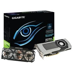 Видеокарта GIGABYTE GeForce GTX TITAN 928Mhz PCI-E 3.0 6144Mb 6008Mhz 384 bit 2xDVI HDMI HDCP RTL