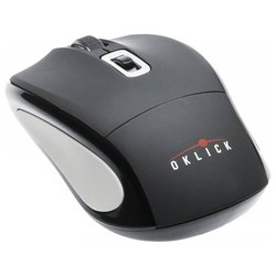 oklick 425mw wireless optical mouse black-grey usb