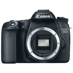 Canon EOS 70D Body (black 20Mpix 3 1080p SD Li-Ion)