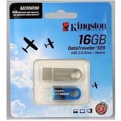 "���� kingston datatraveler se9 16gb ""23 �������"""