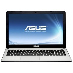 "ноутбук asus x501a-xx460d 90nnoa234w09116013au (intel i3-2370, 2g, 320g, no odd, 15,6"" hd, wifi, bt, camera, dos) (белый)"