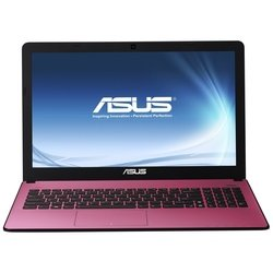 "ноутбук asus x501a-xx466d 90nnoa254w09116013au (intel i3-2370, 2g, 320g, no odd, 15,6"" hd, wifi, bt, camera, dos) (красный)"