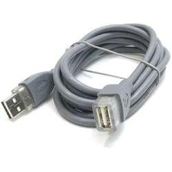 USB 2.0 удлинитель USB-USB Hama H-45027 (1.8 метра) для внешних жестких дисков