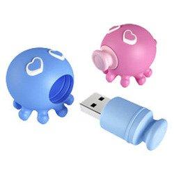 USB Флешка Осьминожка A-Data T806 16Gb (Розовый)