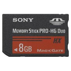 sony mshx8a 8gb memory stick pro-hg duo