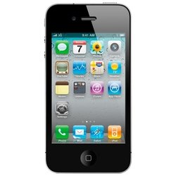 apple iphone 4 32gb black + чехол