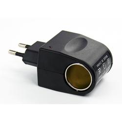 Переходник розетка 220В - прикуриватель 12В (Liberty Project GO000516) (черный)