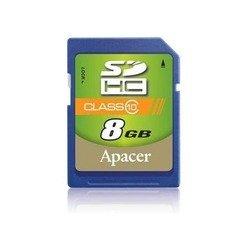 Apacer SDHC 8Gb class 10 (AP8GSDHC10-R)
