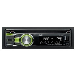 JVC KD-R422EY - автомагнитола 1 DIN, CD-проигрыватель, воспроизведение MP3, макс. мощность 4 x 50 Вт...