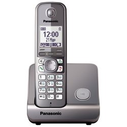 Panasonic KX-TG6711 (серый металлик)