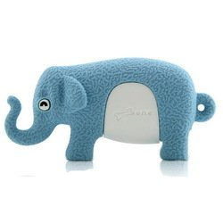 bone collection elephant driver 8gb usb флешка dr09011-8br (голубой)
