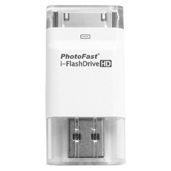 photofast i-flashdrive hd 16gb с адаптером lightning