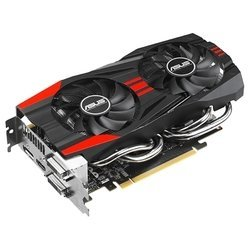 ASUS GeForce GTX 760 1006Mhz PCI-E 3.0 2048Mb 6008Mhz 256 bit 2xDVI HDMI HDCP