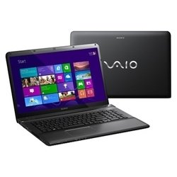 "sony vaio sve1713p1r (core i5 3230m 2600 mhz/17.3""/1920x1080/8192mb/1000gb/dvd-rw/wi-fi/bluetooth/win 8 64) (черный)"