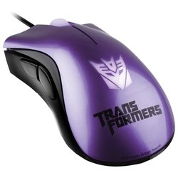 razer deathadder transformers 3 shockwave violet usb