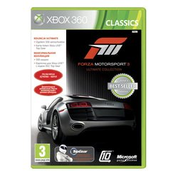 forza 3 ultimate игра для xbox 360
