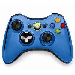 Беспроводной геймпад для Xbox 360 (голубой)