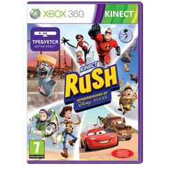 Kinect Rush: A Disney Pixar Adventure игра для Xbox 360
