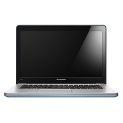 "lenovo ideapad u410 ultrabook 59372397 (core i7 3537u 2000 mhz/14""/1366x768/8192mb/1024gb/dvd нет/nvidia geforce 710m/wi-fi/bluetooth/win 8 64) (серый)"