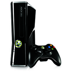 Microsoft Xbox 360 Slim 250Gb + ���� Halo 4 + ������������ �������